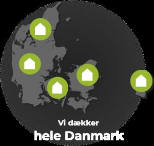 e-consult dækker hele Danmark